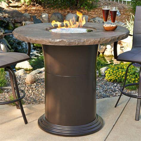 Bar Height Patio Table Fire Pits
