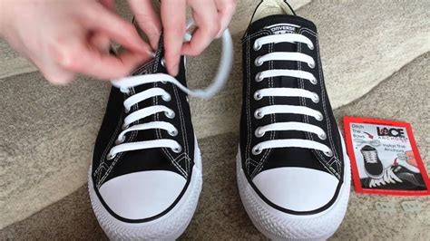 Bar Lacing Converse Sneakers