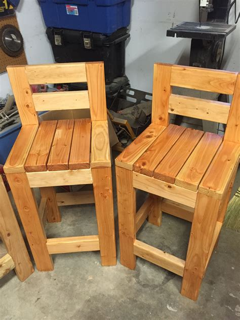 Bar Stool Plans Using 2x4s For Deck