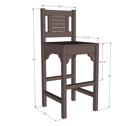 Bar Stool Plans Woodworking Plans