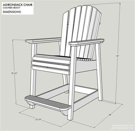Bar-Height-Patio-Chair-Plans