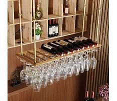 Best Bar supplies wine glass rack