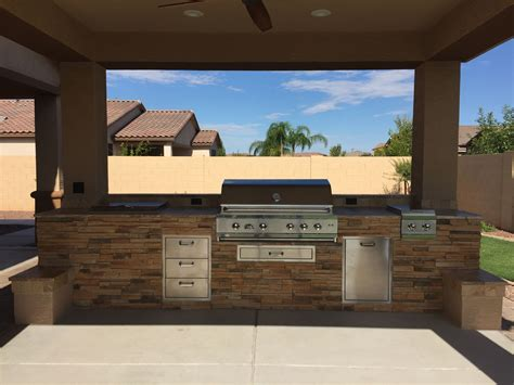 Barbecue Grill Island Plans