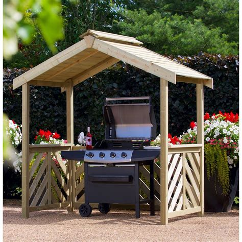 Barbecue Shelter Plans