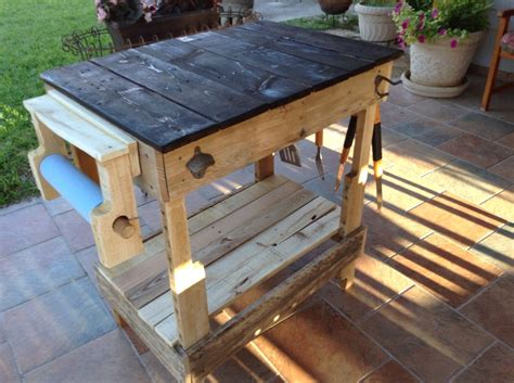 Barbecue Side Table Plans