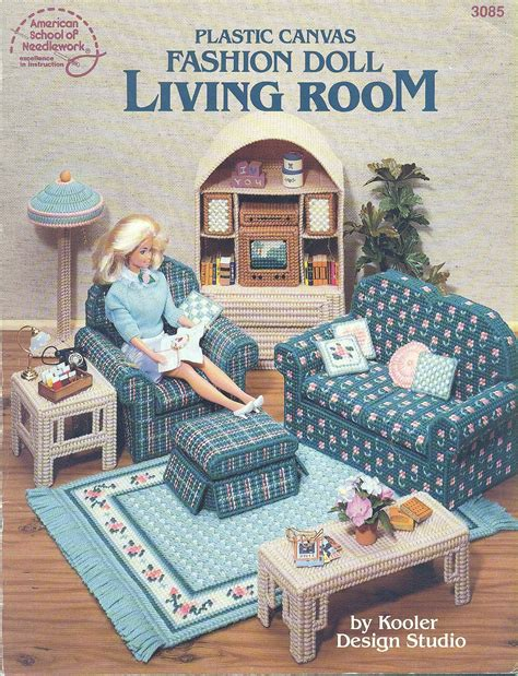 Barbie Doll Furniture Plastic Canvas