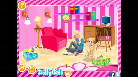 Barbie Doll House Decoration Games 2014