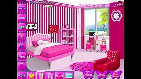 Barbie House Decoration Games Free Online