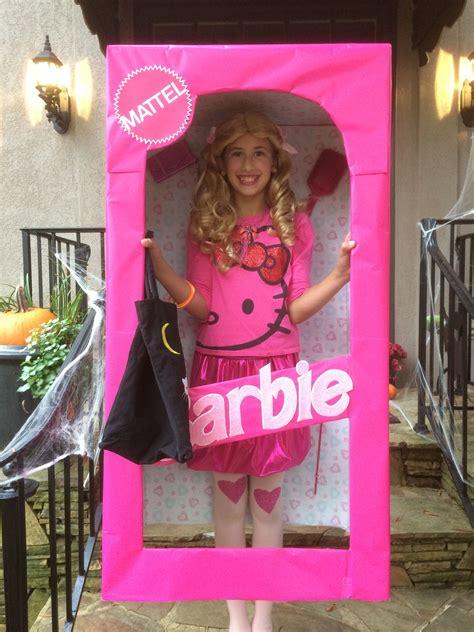 Barbie-Box-Costume-Diy