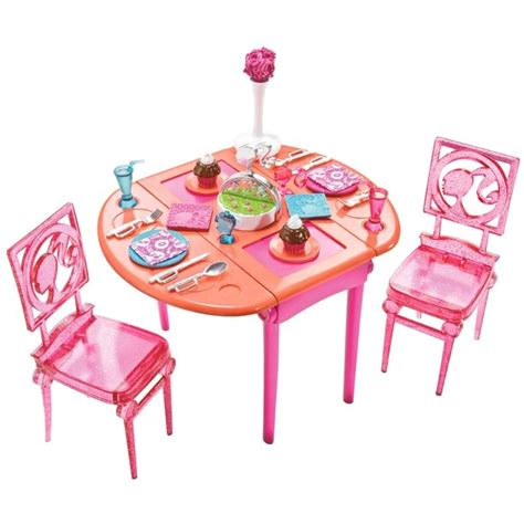Barbie-Dining-Room-Set