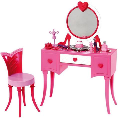 Barbie-Vanity-Table-And-Chair