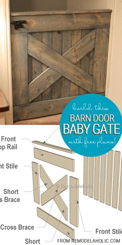 Barn Door Baby Gate Plans