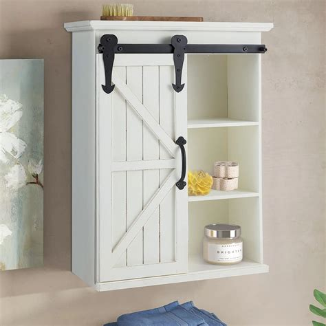 Barn Door Cabinet Bathroom