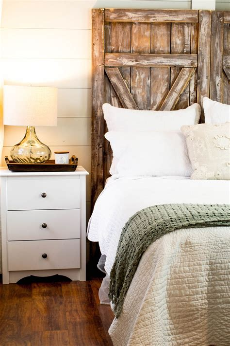 Barn Door Headboard Diy Wood