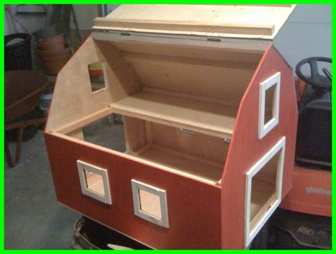 Barn Easy Toy Box Woodworking Plans