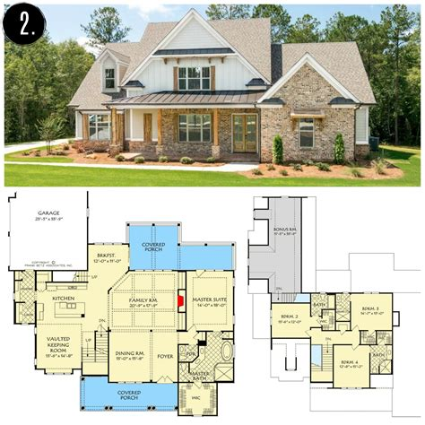 Barn Farmhouse Floor Plans
