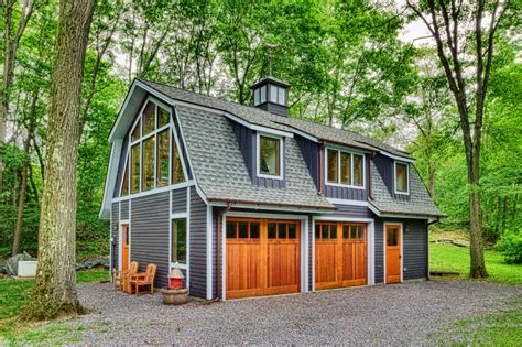 Barn Garage With Apartment Plans