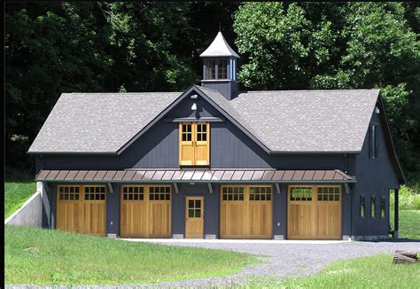 Barn House Garage Plans