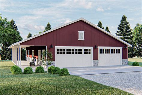 Barn Like House Plans