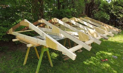 Barn Rafter Plans