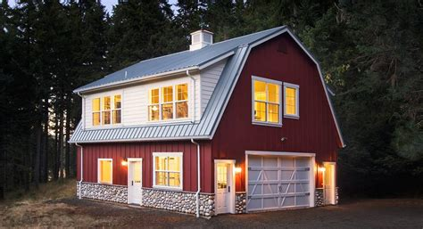 Barn Shaped Home Plans