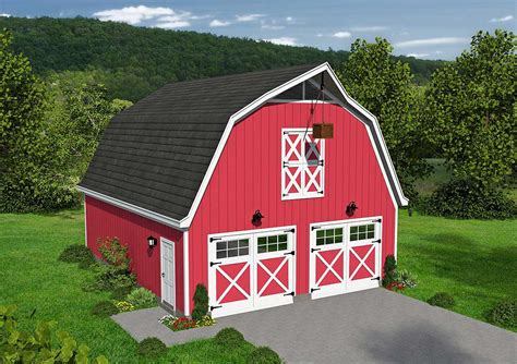 Barn Style Garage Plans With Loft