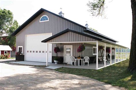 Barn Style Home Plans With Basement Garage