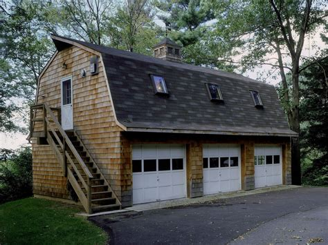 Barn Style Roof Garage Apt Plans 24