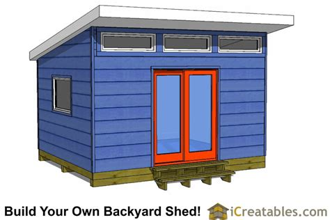 Barn Style Shed Plans 12x14