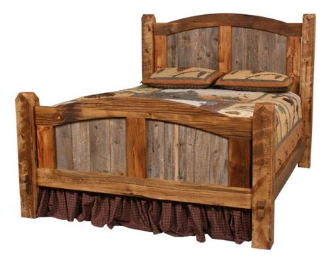 Barn Wood Bed Plans