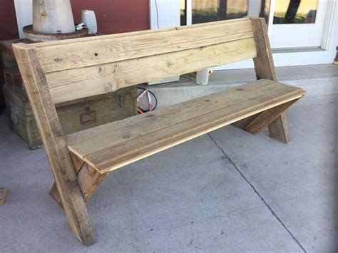 Barn Wood Bench Plans Zones