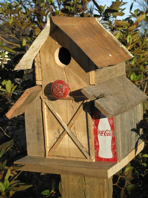 Barn Wood Birdhouse Plans