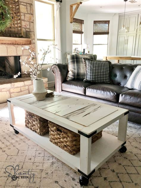 Barn Wood Coffee Table Diy Pinterst