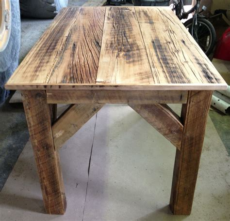 Barn Wood Desk Diy