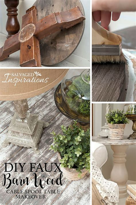Barn Wood Desk Diy Makeover