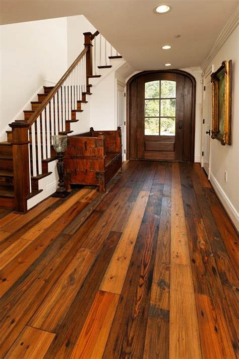 Barn Wood Flooring Diy