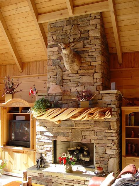 Barn Wood Mantel Ideas