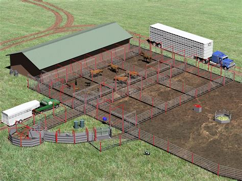 Barn-And-Corral-Plans
