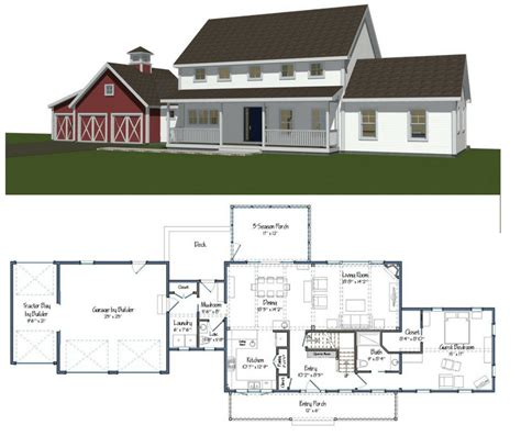 Barn-Farmhouse-Floor-Plans
