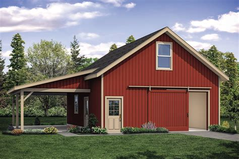 Barn-House-Plans-With-Garage