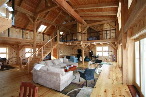 Barn-Style-Timber-Frame-Home-Plans