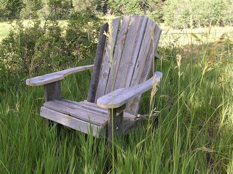 Barn-Wood-Adirondack-Chair