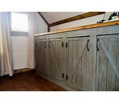 Best Barn door cabinet kitchen