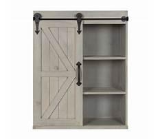 Best Barn wood wall cabinet
