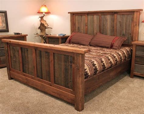 Barnwood Bed Frame Plans