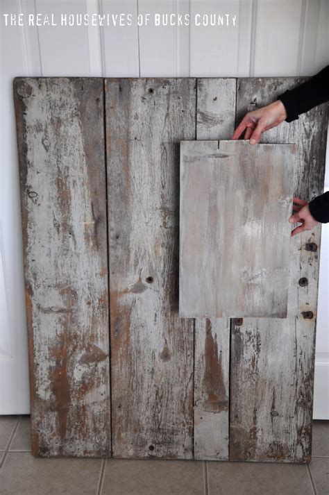 Barnwood Diy With Paint