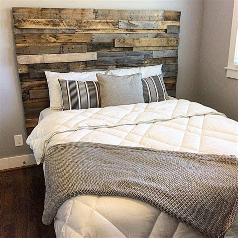 Barnwood Headboard Design Plans