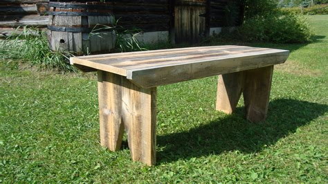 Barnwood-Bench-Plans