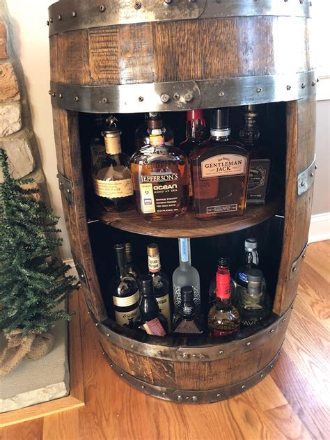 Barrel Cabinet DIY