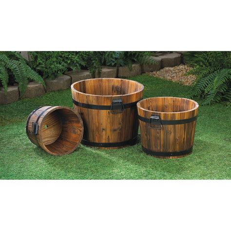 Barrel Planters Cheap